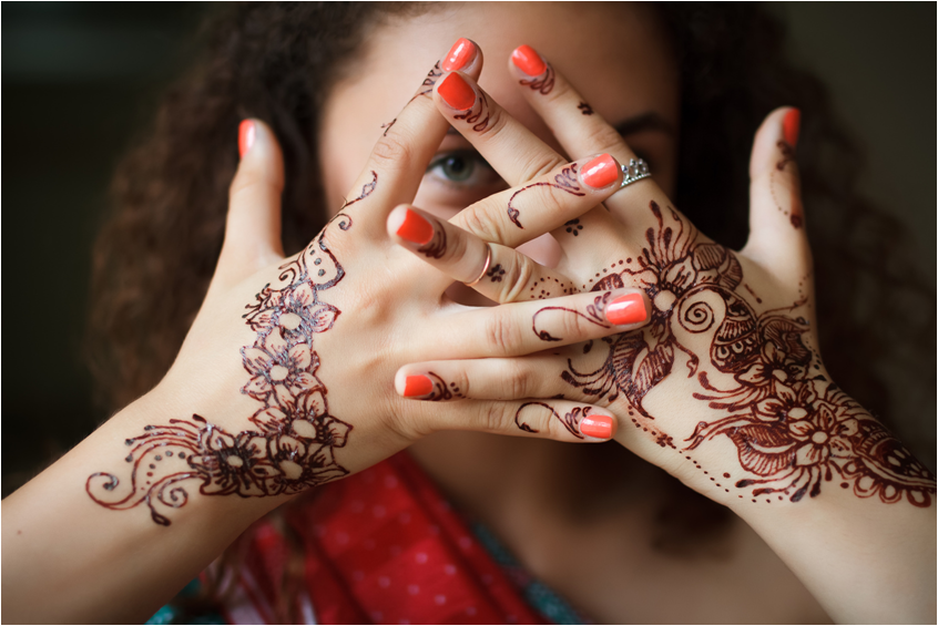 Henna, The Temporary Tattoo Technique