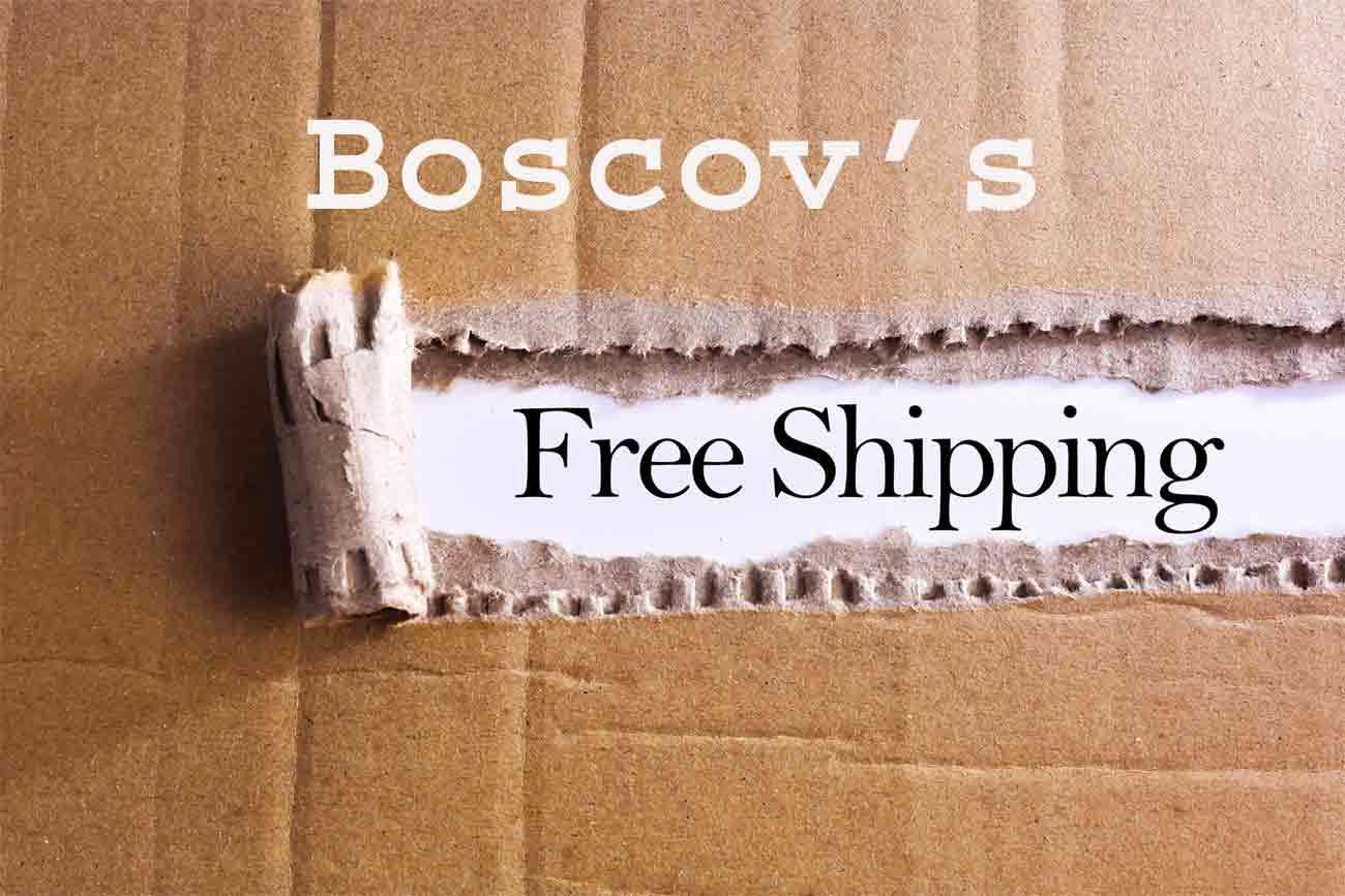 Boscov's free shipping