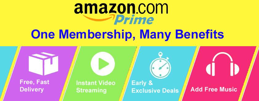 Benefits Of Amazon Prime Membership Subscription