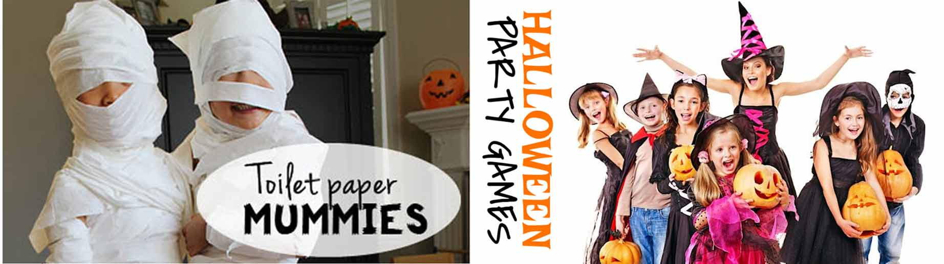 Halloween Party Games Ideas for kids and Adults