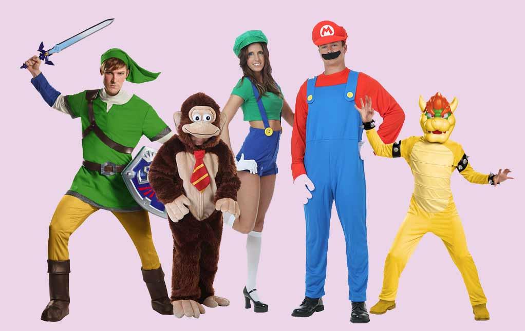 Nintendo Halloween Trending Costumes