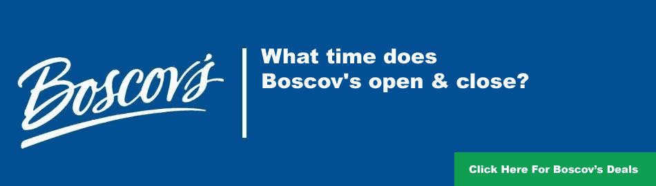 Boscov's Timing