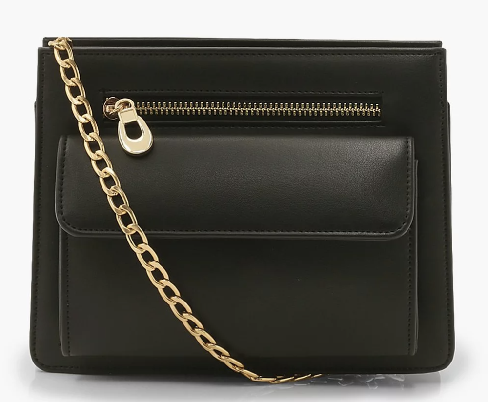 boohoo cross body bag