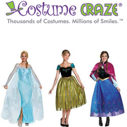 Up To 25% Off Frozen Character Costumes
