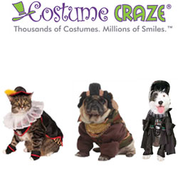 Up To 25% Off Pet Costumes