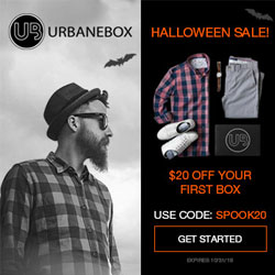 $20 Off your first Men's clothing box