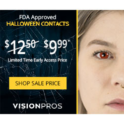 FDA Approved Halloween Contacts