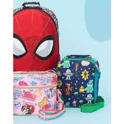 Up to 20% Off Backpacks & Lunch Boxes