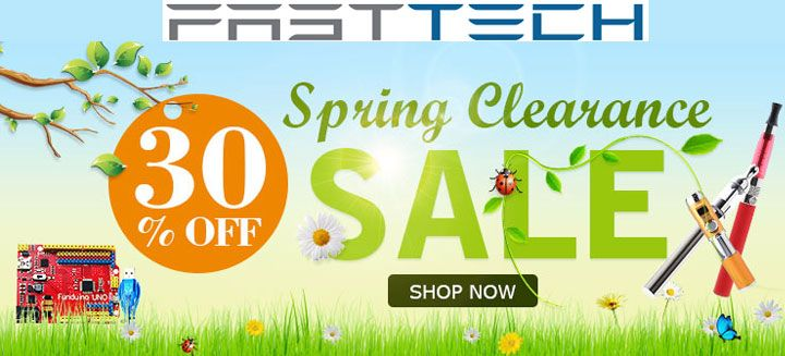 Up to 30% Off Spring Clearance